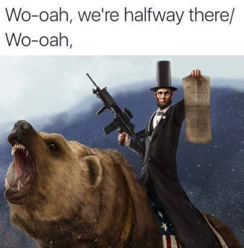 lincoln-on-a-bear